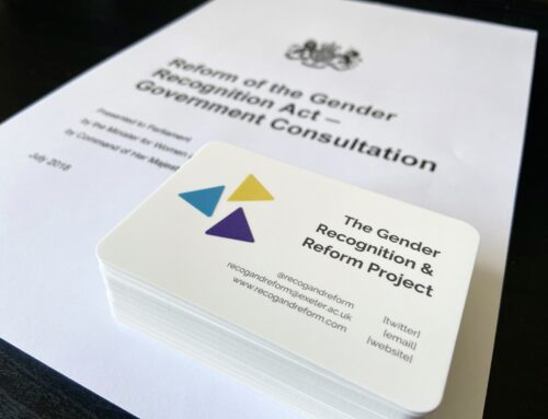 #VIRTUALSLSA2020: Attitudes on the Gender Recognition Act 2004 and reform: the non-binary perspective